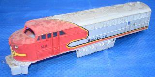 AHM HO Scale Santa FE 5028 C Liner Diesel Electric Railway Locomotive Shell Lot
