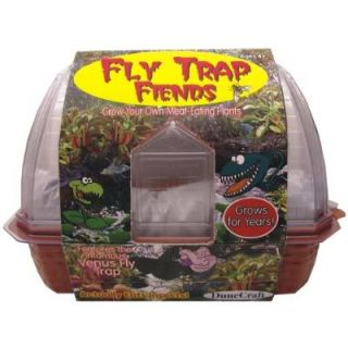 Fly Trap Fiends Venus Flytrap Friends Windowsill Planter Plant Eats Flies Bugs
