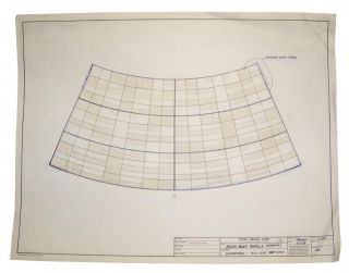 Star Trek Enterprise Saucer Section Panel Blueprint