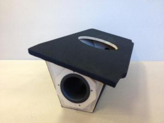 """Nissan 350Z Ported Vented Sub Box Subwoofer Enclosure 1 12"""" Tuned to 32Hz"""