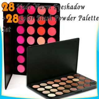 56 Colors Matt Nude Pink Blush Highlight Makeup Eyeshadow Palette Kit G293
