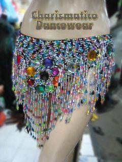 Charismatico Black Drag Samba Rio Carnival Feather Headdress Costume Bra Set