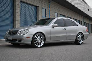 19 Ace Executive Wheels Silver Mercedes E C Class C250 C300 C350 E350 E550 AMG