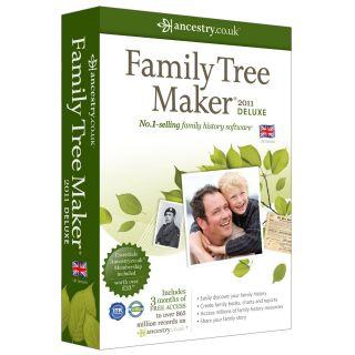 Family Tree Maker 2011 Deluxe PC New