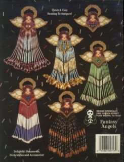 Fantasy Angels Plastic Canvas Pattern Leaflet