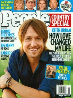 Keith Urban Magazine