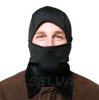 Balaclava Full Face Mask Military Tactical Black Ninja Light Weight Head Shield