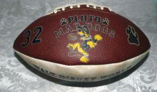 Walt Disney World All Century Football Mickey Mouse Steamboat Pluto Mad Dogs