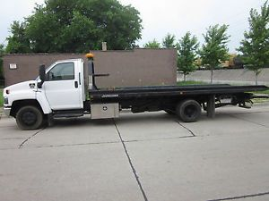 2008 Chevrolet Flatbed Tow Truck