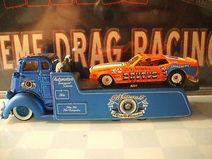 """Custom COE Flatbed Hauler 1971 Ford Mustang Funny Car """" Brutus """""""