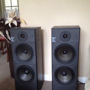 KEF Model K160 Floor Standing Speakers