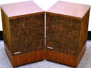 Vintage Bose 501 Series II Direct Reflecting Large Floor Standing Speakers Brown