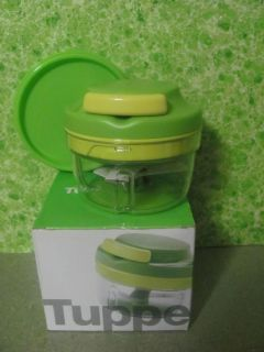 Tupperware Chop 'N Prep Mini Food Processor Lime Green
