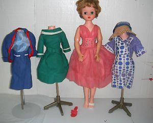 Vintage Candy Fashion Doll Reading Candy Fashion Doll