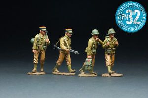 Figarti F4043E WWII French Foreign Legion Troops Mint in Box