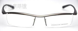 d8da51a55c8 New Eyeglass Frames Luxury Porsche Design TR90 P8189 Gray on PopScreen