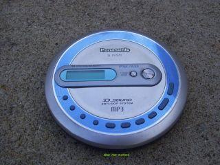 Panasonic SL MP70 Portable  CD Player Walkman Am FM Digital Radio Bass Boost