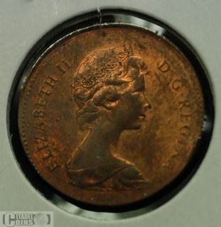 1979 Canada 1 Cent on Foreign Planchet