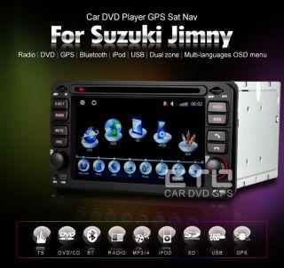 ETO Suzuki Jimny Autoradio Headunit Stereo GPS Navigation Car DVD Touch Screen