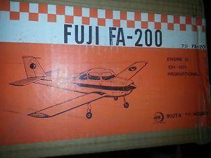 Vintage Wood Model Airplane Kit