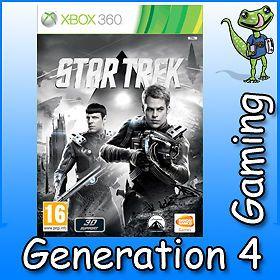 Star Trek 2013 Elite Officer Pack Xbox 360 Game New and SEALED UK PAL