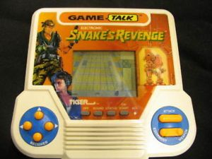 Snakes Revenge Vintage 1990 Tiger Electronics Electronic Handheld LCD Game Plays