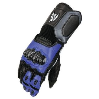 Agv Sport Stealth Leather Motorcycle Gloves