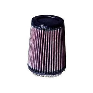 "K N Air Filter Filtercharger Conical Cotton Gauze Red 4"" Dia Inlet ea RU 2590"
