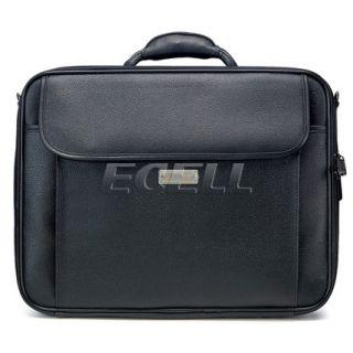 "Kingsons Black Laptop Leather Carry Bag Case for 15 4"" HP Lenovo MSI Samsung"