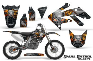 Honda CRF 250 R 04 09 Graphics Kit Creatorx Decals Stickers SPMSB