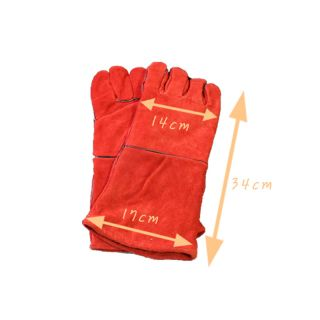 Fireplace Protective Gloves Wood Stove Camp Fire Hearth BBQ Grill