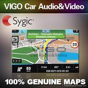 ☆car GPS New 2013 Navigation Software with USA Canada Maps