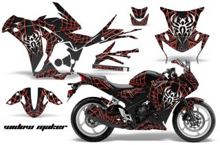 AMR Racing Graphic Kit Wrap Honda CBR250 Street Bike CBR 250 Decal Widow Maker R