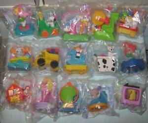 Ronald McDonalds Presents Happy Birthday Motion Train Kids Happy Meal Toy Set