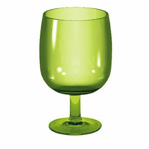 Zak Designs Plastic Stacky Stem Glass 250ml Lime Green