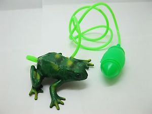 12 Compressed Air Powered Jumping Frog Toys for Kids