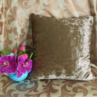 Fossil CLR Crushed Stretchy Velvet Style Cushion Cover Custom Size U60CC 838