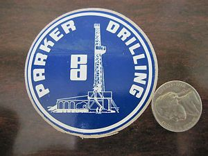 Parker Drilling Company Oil Gas Oilfield Hard Hat Sticker Decal
