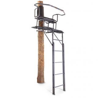 X3JB1 283704 New Guide Gear 18' 2 Man Ladder Stand