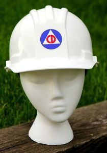 Civil Defense Hard Hat Helmet