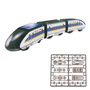 Solar Power Green Energy DIY Bullet Train Subway Educational Toy for Kids