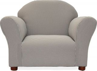 Furniture Chair Gingham Upolster Accent Living Room Chair Club Chair Den Room