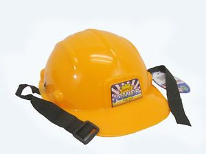New Children Youth Toddler Kids Orange Construction Engineer Hard Hat Helmet Toy