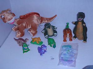 Land Before Time Puppet DQ Kids Burger King Plush Kellytoy 9 Toy Dinosaur