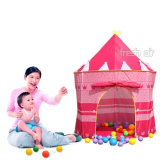 Folding Outdoor Indoor Kids Children Girls Play Tent House Princess Castle Toys