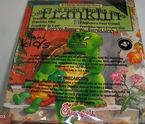 Chick Fil A Kids Meal Toy Franklin TV Turtle Fibs Book Booklet 2012