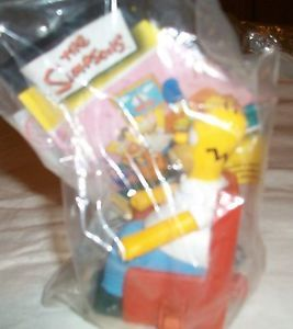 Burger King Kids Meal Toy TV's The Simpsons Homer Couch A Bunga SEALED