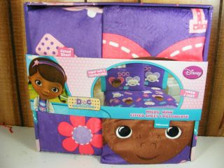 Doc McStuffins Micro Mink Sheet Pillowcase Hallie Lambi