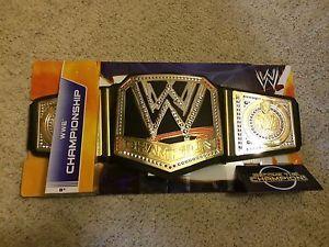 WWE Mattel WWE Championship Kids Toy Belt Brand New John Cena Randy Orton Lesnar