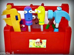 Disney Singing Dancing Talking Handy Manny Kids Toys Tool Box Complete Set